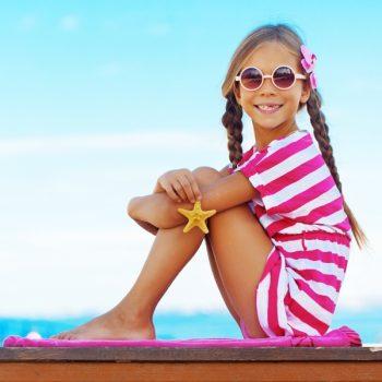 Vaikiški saulės akiniai