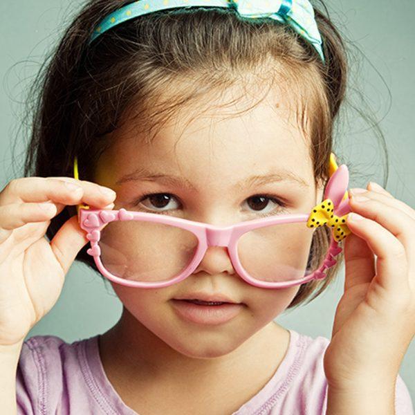 Vaikiški akinių rėmeliai